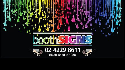 Booth Signs